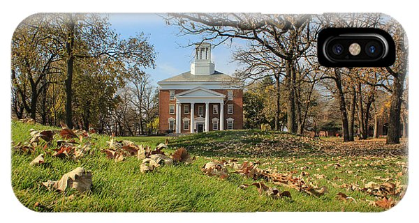 Middle College On An Autumn Day IPhone Case