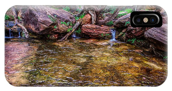 Middle Emerald Pools Zion National Park IPhone Case