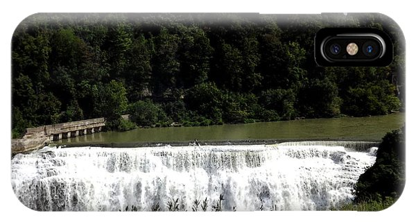 Middle Falls In Rochester New York IPhone Case