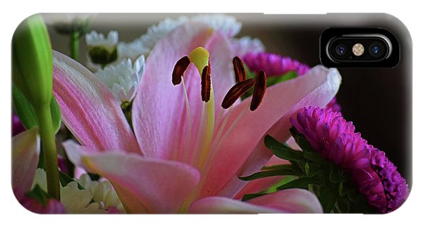 Middle Lily IPhone Case