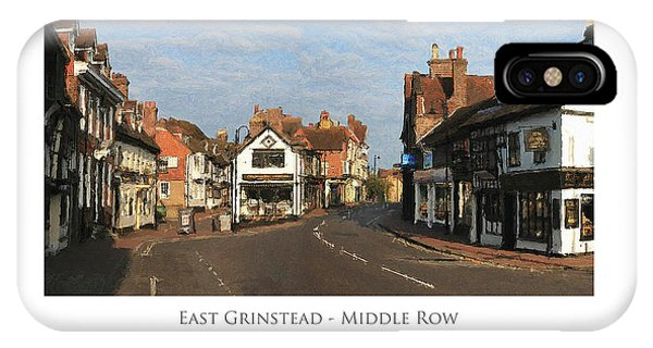 Middle Row East Grinstead IPhone Case