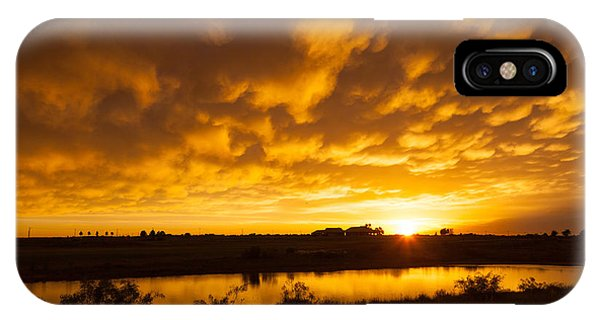 Midland Sunset IPhone Case