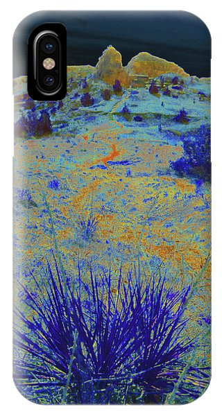 Midnight At The Burning Coal Vein IPhone Case