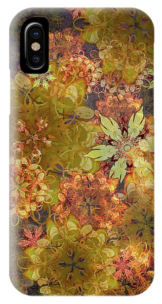 Midnight Blossom Bouquet IPhone Case