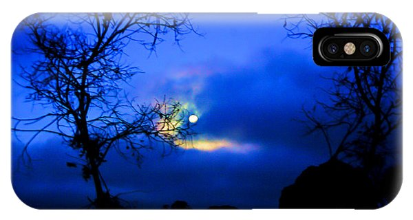 Midnight Clouds IPhone Case