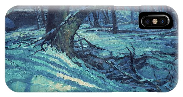 Ice iPhone Case - Midnight Coppei by Steve Henderson