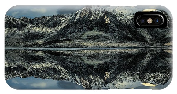 Freeze iPhone Case - Midnight Lake by Adrian Evans