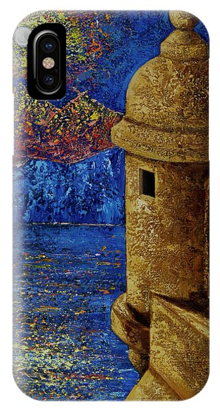 Midnight Mirage In San Juan IPhone Case