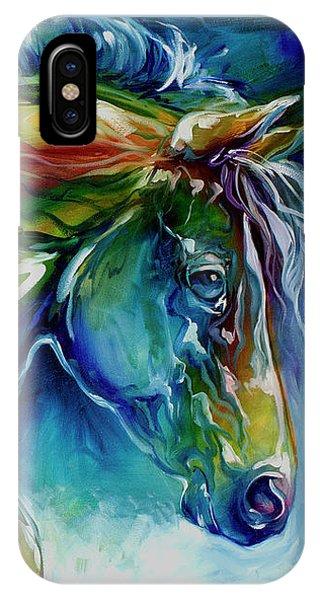 Midnight Run Equine IPhone Case