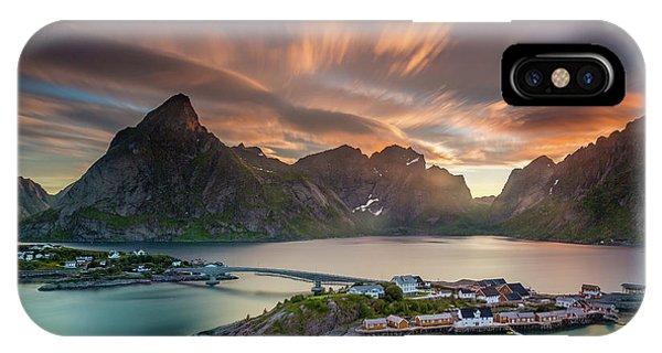 Midnight Sun Galore IPhone Case