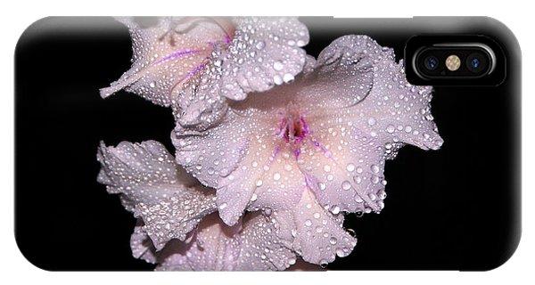 Midnite iPhone Case - Midnite Aroma Purple by Debbie May