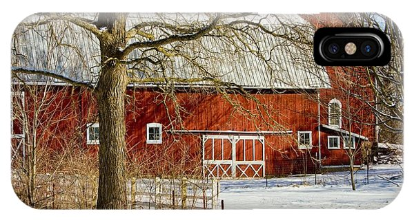 Midwest Barn IPhone Case