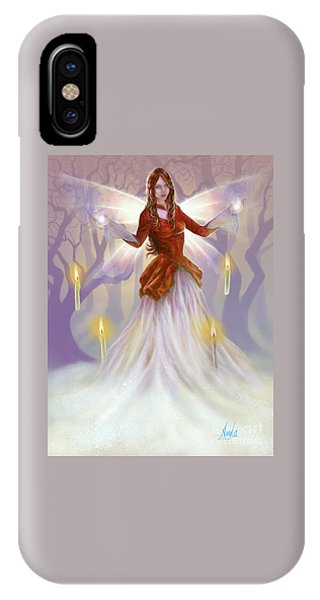 Midwinter Blessings IPhone Case