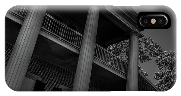 IPhone Case featuring the photograph Mighty Columns - The Hermitage by James L Bartlett