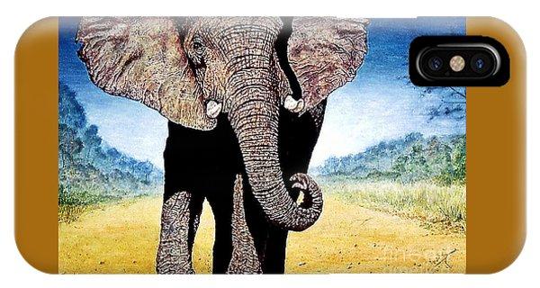 Mighty Elephant IPhone Case