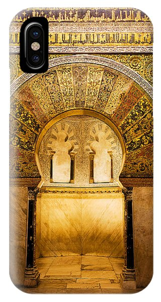 Mihrab In The Great Mosque Of Cordoba IPhone Case