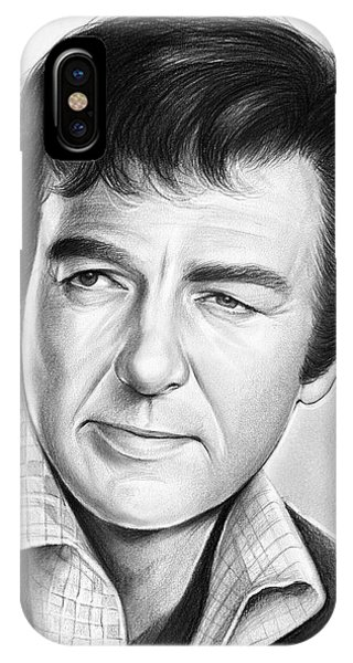 Mike iPhone Case - Mike Connors by Greg Joens