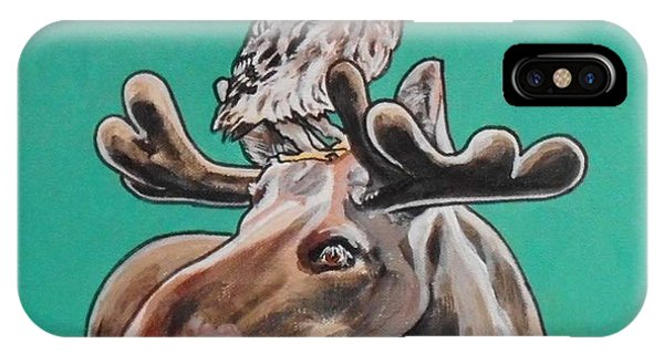Mike The Moose IPhone Case