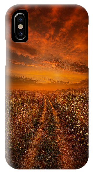 Miles And Miles Away IPhone Case