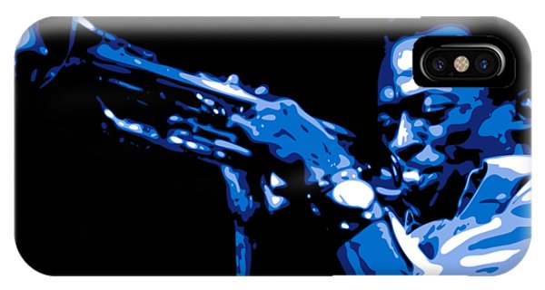 African American iPhone Case - Miles Davis by DB Artist
