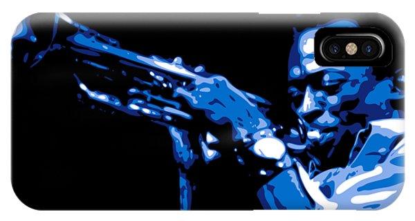 Trumpet iPhone X Case - Miles Davis by DB Artist