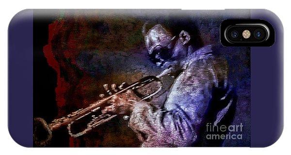 Miles Davis Jazz Legend 1969 IPhone Case