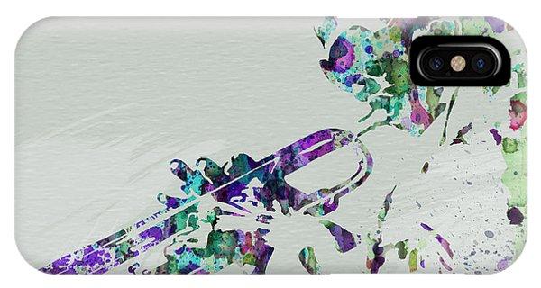 Saxophone iPhone Case - Miles Davis by Naxart Studio