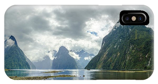 Milford Sound Panorama IPhone Case