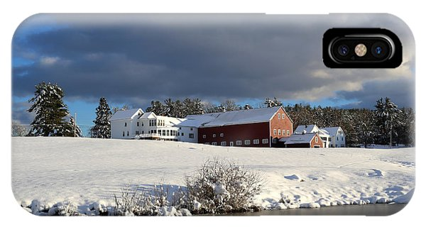 Milford Winter IPhone Case