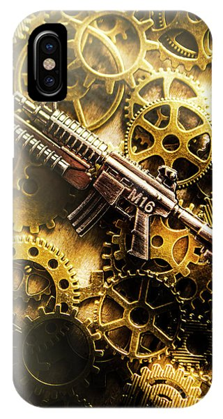 Sharpshooter iPhone Case - Military Mechanics by Jorgo Photography - Wall Art Gallery
