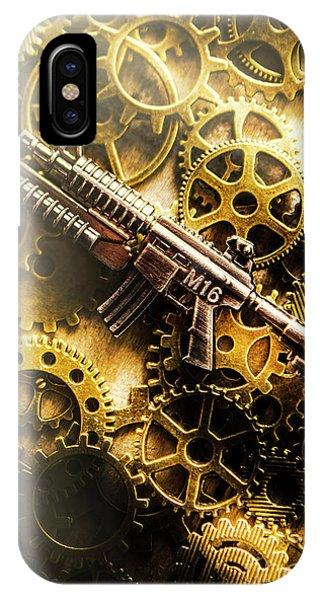 Military Mechanics IPhone Case