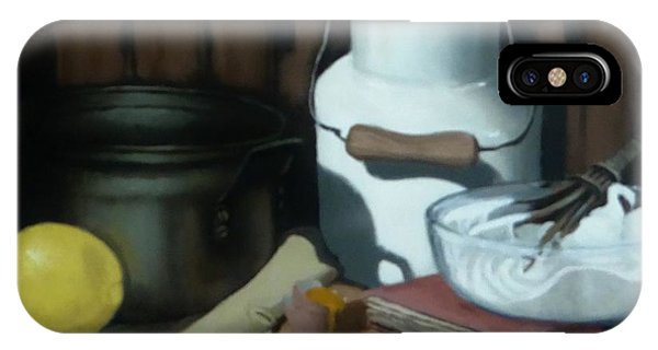 Milk Jug Meringue IPhone Case