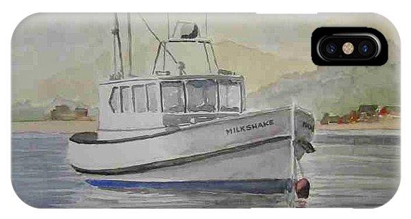 Milkshake Boat IPhone Case