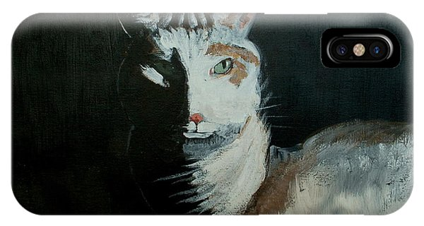 Milkshake The Cat IPhone Case