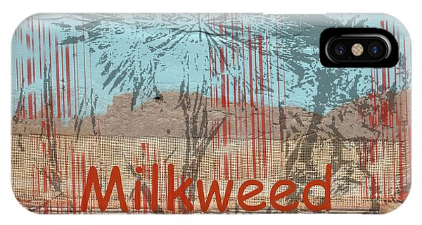 Milkweed Collage IPhone Case