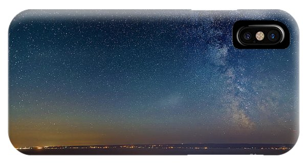 Milky Way Above Carleton In Quebec Phone Case by Colin Woods