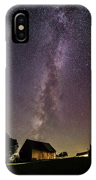 Milky Way And Barn IPhone Case