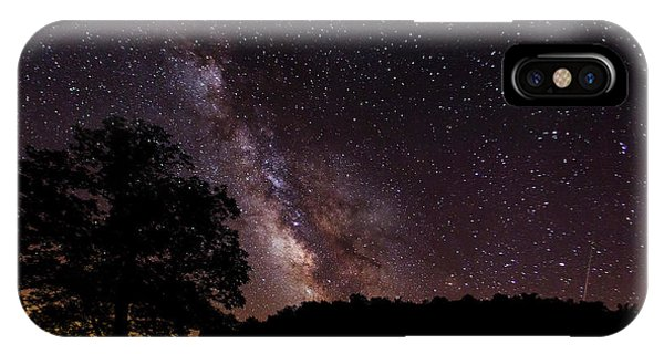 Milky Way And The Tree IPhone Case
