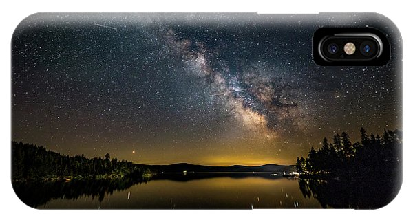 IPhone Case featuring the photograph Milky Way At Hunter Cover by Darryl Hendricks
