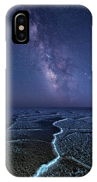 Milky Way At The Salt Flats IPhone Case