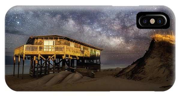 Milky Way Beach House IPhone Case