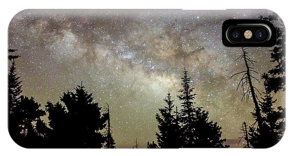Milky Way From Mt. Graham IPhone Case