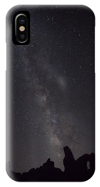 Milky Way Galaxy At Arches National Park IPhone Case
