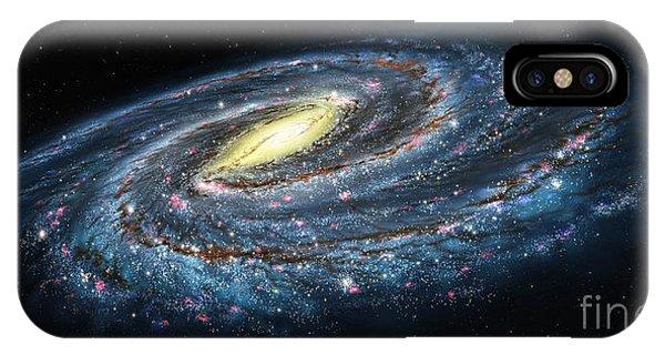 Milky Way Galaxy Oblique IPhone Case
