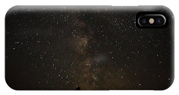 Milky Way, Glacier Nat'l Park IPhone Case