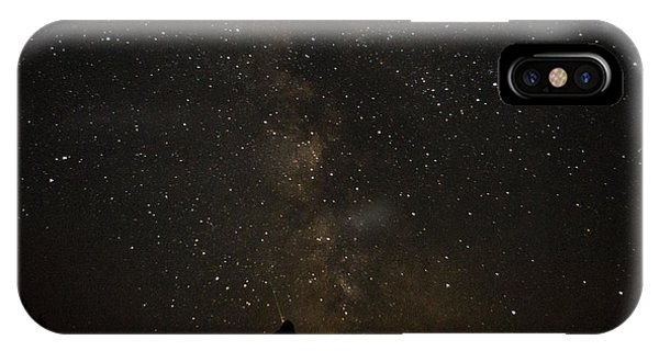 Milky Way, Glacier Nat'l Park IPhone Case