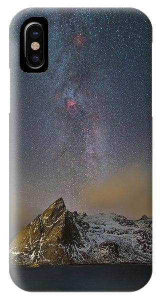 Milky Way In Lofoten IPhone Case