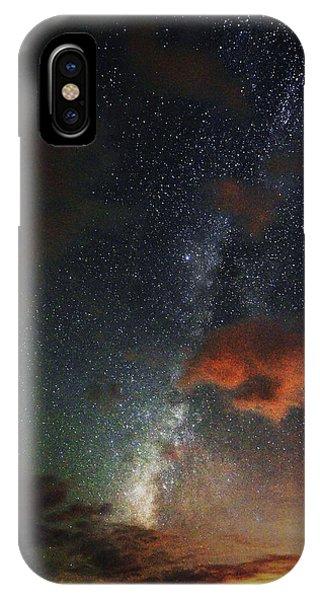 Milky Way In The Desert IPhone Case