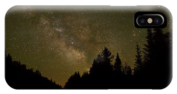 Milky Way In The Whites IPhone Case
