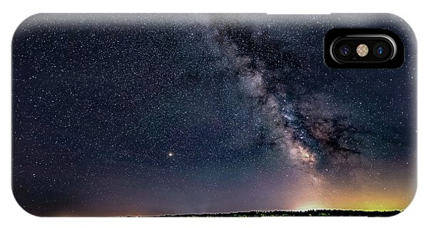 IPhone Case featuring the photograph Milky Way On The Eastern Trail by Darryl Hendricks